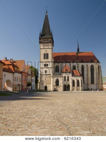 Church Of St. Egidius In Bardejov