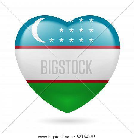 Heart icon of Uzbekistan