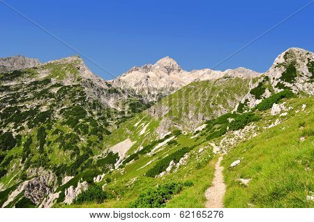 Mount Triglav in the Julian Alps - Slovenia, Europe