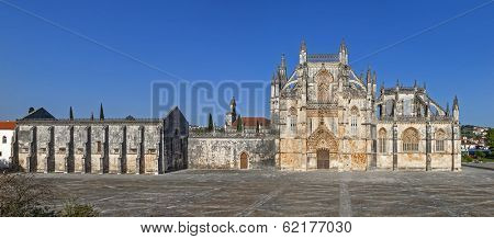 Batalha Monastery. Masterpiece of the Gothic and Manueline. Dominican Religious Order. Portugal. UNESCO World Heritage Site.