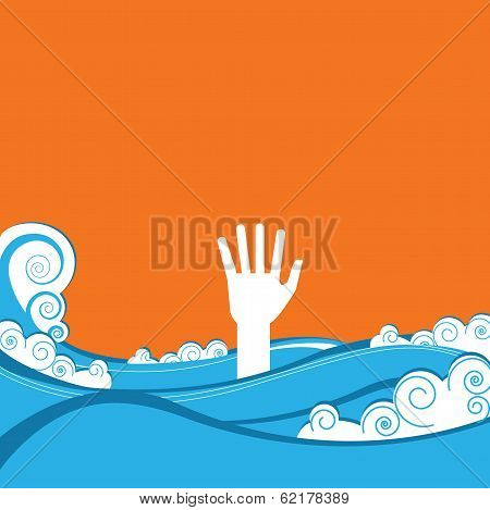 Hand Of Drowning