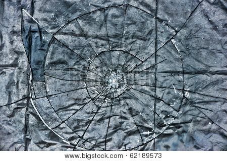 Broken Glass Grunge Layer