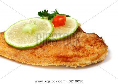 Roasted  Flounder ( Plaice )