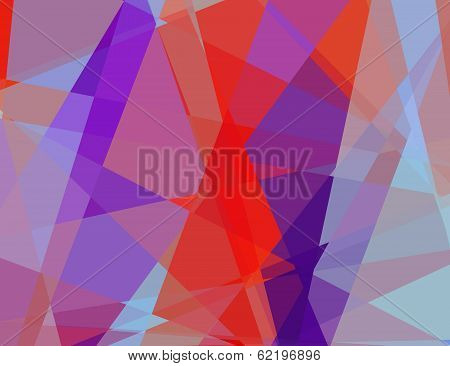 Abstract colored geometric background