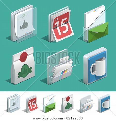 Basic Printing Icons