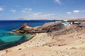 image of papagayo  - View of the beach Papagayo - JPG