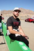 LOS ANGELES - MAR 15:  Max Thieriot at the Toyota Grand Prix of Long Beach Pro-Celebrity Race Traini