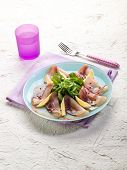 stock photo of swordfish  - carpaccio swordfish marinated - JPG