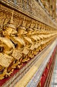 picture of garuda  - Garuda Wat Phra Kaew Bangkok Thailand Garuda Wat Phra Kaew Bangkok Thailand - JPG