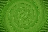 Green Abstarct Vortex Background
