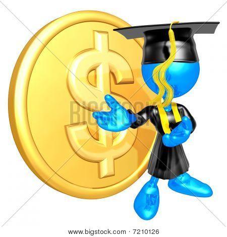 Mini O.G. Graduate With Gold Coin