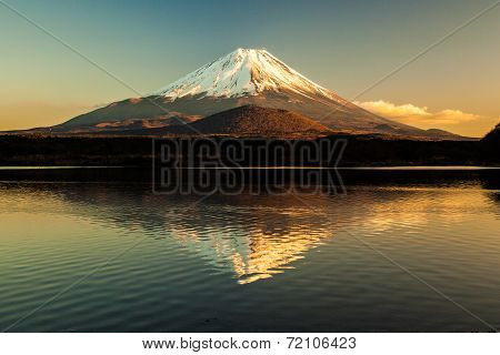 World Heritage Mount Fuji and Lake Shojiko