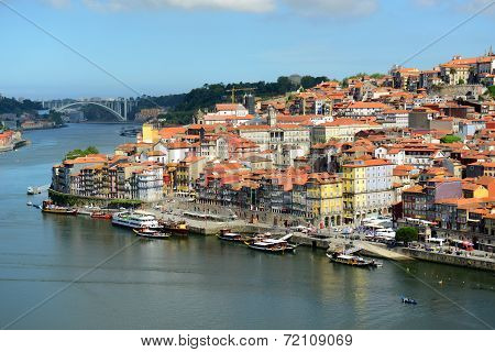 Porto Old City River View, Porto, Portugal