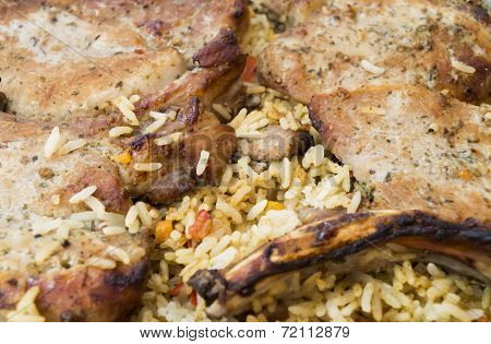 Pork With Rice