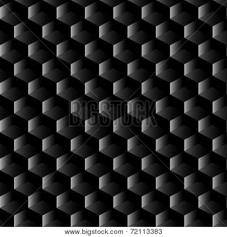 Black Graphite Mesh Seamless Pattern
