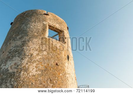 Saracen Tower In Italy.
