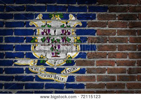 Dark Brick Wall - Connecticut