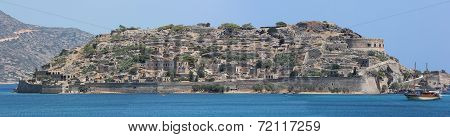 West bank of Spinalonga, Crete, Greece