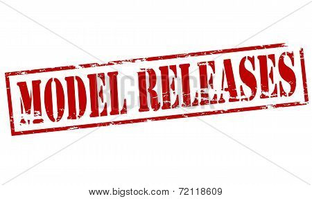 Model Releases Stamp