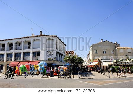 Town Center Of Saintes-maries-de-la-mer