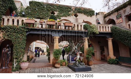 The buildings of Tlaquepaque