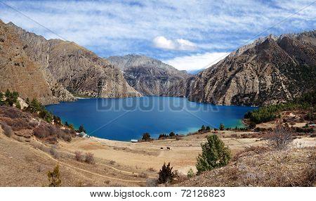 Phoksundo Tal Or Ringmo Lake - Western Nepal