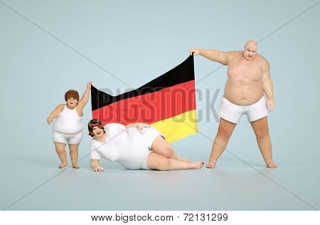 German obesity concept