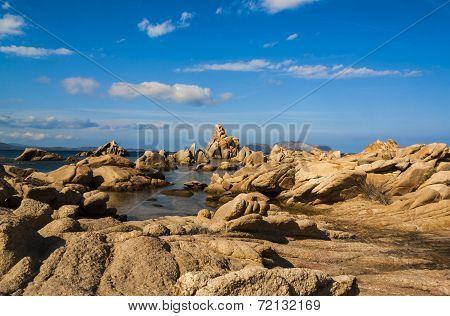 Beautiful coast of Sardinia