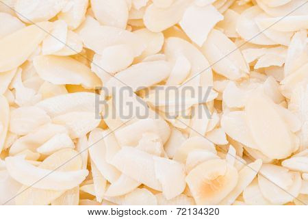 Almond Flakes Background