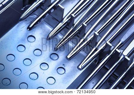 Set Of Evil Medical Instruments