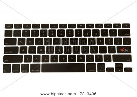 Keyboard Vote