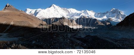 Panoramic View Of Cho Oyu