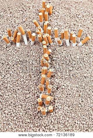 Cross Of Cigarettes