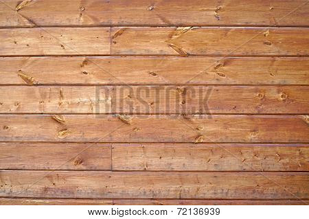 Texture Of Wall Of Unpainted Boards