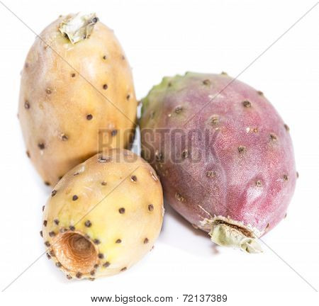 Prickly Pears On White