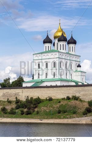 Trinity Cathedral In Pskov