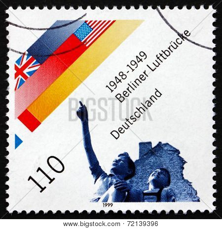 Postage Stamp Germany 1999 Berlin Airlift, Cold War