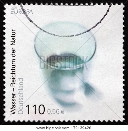 Postage Stamp Germany 2001 Water - Wealth Of Nature