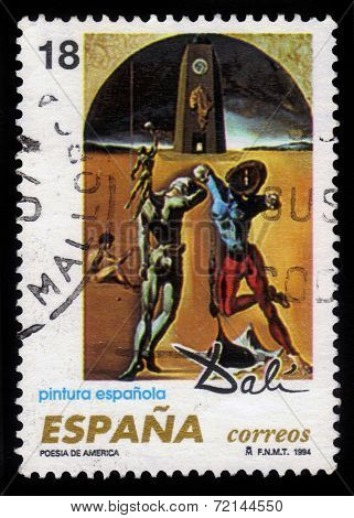 Poetry Of America By Salvador Dali