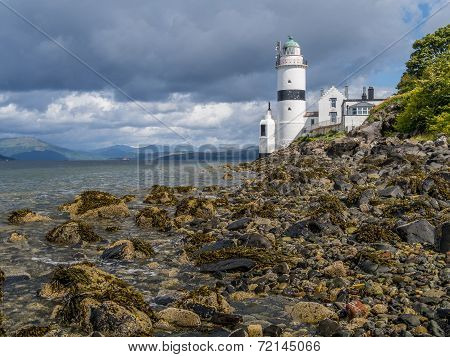 Lighthouse On West Coast Of Scotland