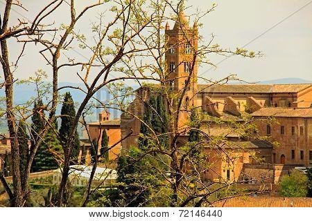 Old toscana church