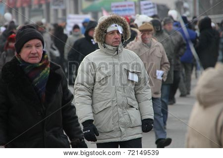 Unknown Opposition On The March For Fair Elections