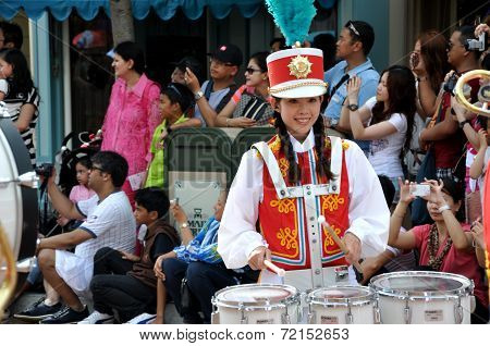 Drum Girl In The Big Carnival