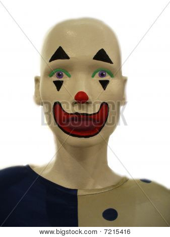 Crazy Clown Face