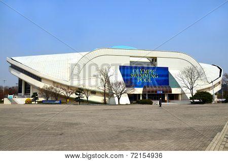 Seoul Olympic swimming pool