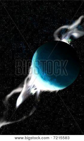 Planet cosmic dust