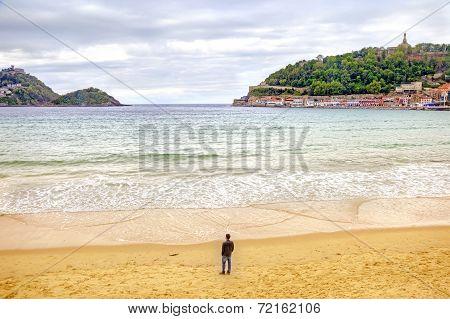 San-sebastian. Beach