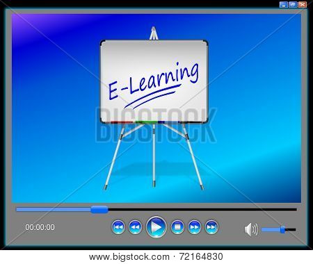 Media Player E-Learning