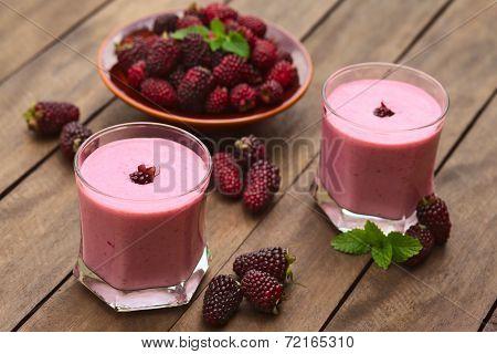 Blackberry Milkshake