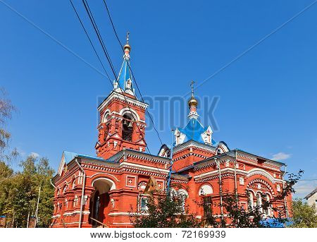 Intercession Of Theotokos Church (1896). Osechenki, Russia